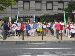鳥取県米子市、撮影・米子9条の会