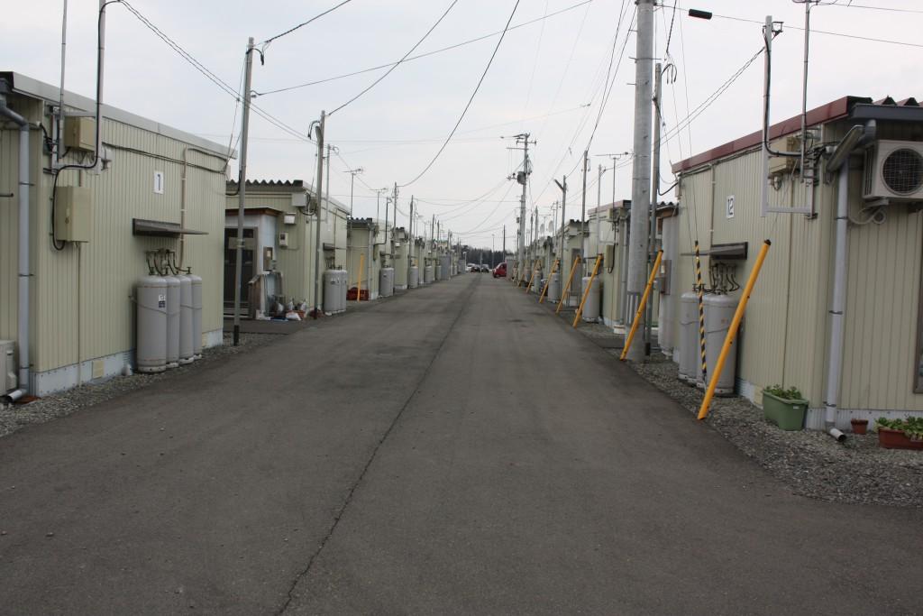 松川第1仮設住宅